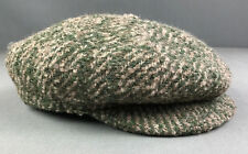 Borsalino Doria Thick Wool Tweed Newsboy 8 Panel Mens Hat Cap Made Italy 7 1/4