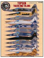 Furball Decals 1/32 TOP GUN TIGERS & TALONS AGGRESSOR F-5E TIGER