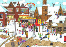 The House Of Puzzles - 1000 PIECE JIGSAW PUZZLE - It's Cold Outside Cartoon