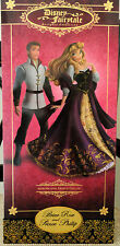 DISNEY DESIGNER FAIRYTALE COUPLE AURORA & PRINCE PHILLIP LE DOLL SET NIB # 3243