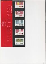 2002 Royal Mail Presentation Pack caselle postali menta francobolli decimale