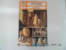 CARTE FICHE CINEMA 1995 LA BIBLE DE NEON Gena Rowlands Jacob Tierney D.Scarwid