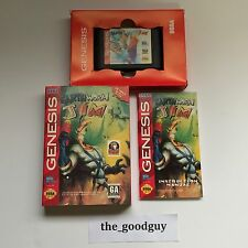 Earthworm Jim 1 (Sega Genesis, 1994) Original Complete in Box Near Mint