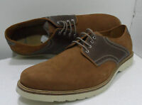 CLARKS MENS HAYMARKET PACE BROWN LEATHER LACE UP SHOES UK SIZE 11 G