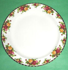 "Royal Albert OLD COUNTRY ROSES Chop Dish Round Platter 13"" New $180.00"