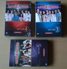 Lot  DVD Urgences ER Saison 3 4 et 5 slim zone 2 George Clooney 66 épisodes