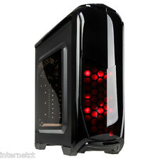 KOLINK AVIATOR BLACK USB 3.0 GAMING TOWER CASE TOOL FREE LED ATX mATX MINI ITX