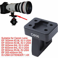 Lens Support Collar Tripod Mount Ring Base for Canon EF 400mm f/2.8L IS II USM