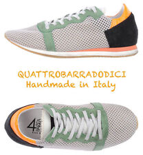 NIB $195 QUATTROBARRADODICI HANDMADE IN ITALY FASHION SNEAKERS. SZ IT38/US 7.5 M