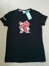 Ladies',womens' 100%CTN  London Olympic theme t shirt size 12 .BNWT.
