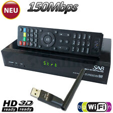 ►SAB SKY 4710 FTA Full HD SAT Receiver USB Mediaplayer YouTube WLAN HDTV  WiFi
