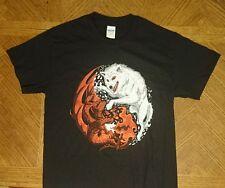 Game of Thrones House Targaryan VS House Stark T-shirt size Mens Small