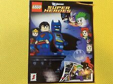 New Lego Super Heroes Comic Book ONLY The Batcave 6860