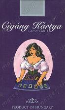 Sellado Deck De 36 Gypsy carta de tarot en 6 idiomas, kviz, José Vicente # 001-Uk