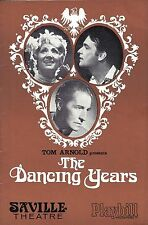 "Ivor Novello's ""DANCING YEARS"" June Bronhill / David Knight 1968 London Playbill"