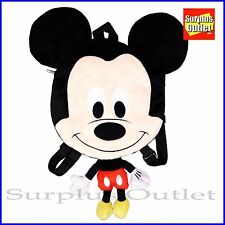 """Disney Mickey Mouse Plush Doll Backpack 20"""" Flat Costume Bag"""