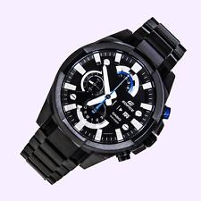 Brand New casio 540- EFR BK chronograph wrist watch for men completely black