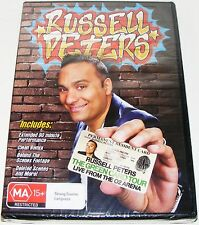 RUSSELL PETERS -The Green Card Tour Live From The 02 Arena---(New & Sealed Dvd)