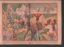 FRANCE MADAGASCAR DECES équipage Caillol, Roux , Dodeman ILLUSTRATION 1930