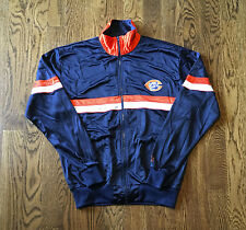 Vintage Chicago Bears Track Jacket XL Starter NFL Football Payton Ditka Era