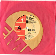 """THE FLYS - NAME DROPPING / FLY V. FLY 7"""" 45 VINYL RECORD 1979"""