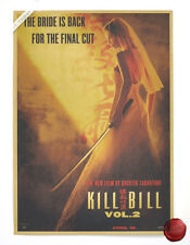 Kill Bill Movie Poster Retro Kraft Paper Room Cafe Bar Decor Poster 173