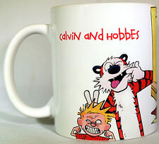 Calvin and Hobbes - Coffee MUG - CUP - Personalised - Gift