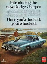 Old Print. 1976 Dodge Charger Daytona - Once you've looked, your hooked! Auto Ad