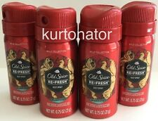 Old Spice Refresh BEARGLOVE Bodyspray Lot of 4 Travel Size NEW 0.75 oz Each