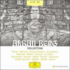 Alban Berg Collection (Abbado, Levine, Barenboim, Kremer) CD NEW