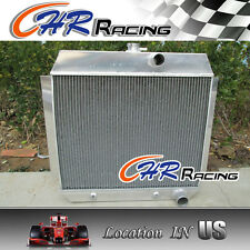 3 ROW Aluminum Radiator for 1951-1954 CHEVY L6 Bel Air cars W/COOLER 51 52 53 54