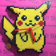 Pokemon Pikachu Pixel Clock