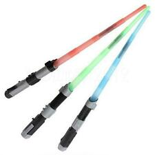 COLORS STAR WARS FX SOUND LIGHTSABER LIGHT SABER ADJUSTABLE SWORD KIDS TOY
