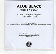 (GP225) Aloe Blacc, I Need A Dollar - DJ CD
