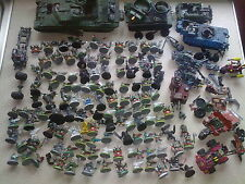 warhammer 40k orks large army 200 models spare repair job  lot battle wagon