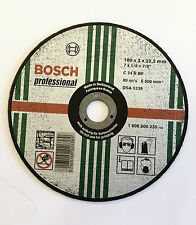 """Bosch 180mm (7"""") x 3.2 x 22mm BORE CUT OFF DISC FOR STONE - Pack of 2 Discs"""