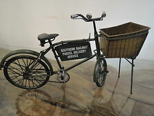 TIN PLATE MODEL BICYCLE VINTAGE SOUTHERN RAILWAY DELIVERY SCALE 1:8 LENGTH 31CM