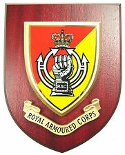 RAC ROYAL ARMOURED CORPS CLASSIC HAND MADE REGIMENTAL MESS PLAQUE