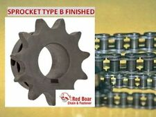 "41B10H-5/8"" Type B Finish Bore Sprocket for #41 Roller Chain w/ keyway set screw"