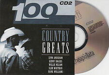 CD CARTON CARDSLEEVE COUNTRY 20T LYNN ANDERSON/CLINE/TRAVIS/WHITMAN/LAINE   NEUF