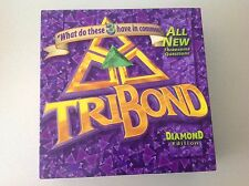 TriBond Diamond Edition Board Game 2+ players Ages 12+ Used But Complete !!!