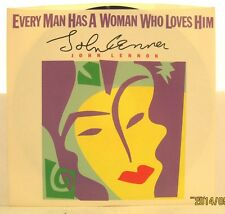 "John Lennon ""Every Man Has a Woman Who Loves Him"" 1984 Polydor 45rpm w/ PS NM"