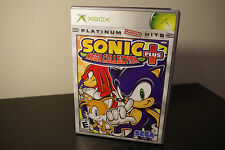 Sonic Mega Collection Plus (Microsoft Xbox, 2004) *Tested / Complete