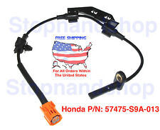 New ABS Wheel Speed Sensor for 02-06 Honda CR-V Back Rear Driver Left Side LH RL