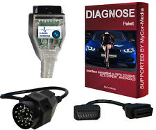 Diagnosi kdcan Interface per BMW INPA Rheingold ista NCS Expert Software U. Apps