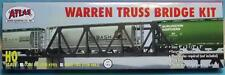 HO Scale-Atlas-883-Warren Truss Bridge Kit w/code 100 Track-Assembly Required