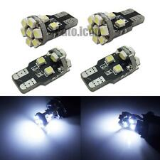 4pcs HID White 360° 13-SMD 168 W5WB 2825 LED Bulbs For Car License Plate Lights