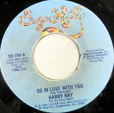 HARRY RAY 45 Love is a Game SUGAR HILL Soul RARE Original 1983 THE MOMENTS #C826