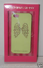 Victoria's Secret Yellow Sparkly Angel Wings Iphone 4 / 4S Cover phone Case New