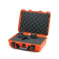 Orange Nanuk 910 Case With Foam & Pelican TSA- 1400 Lock